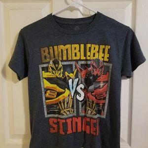 Boy's Bumblebee Transformer T-Shirt size (10/12)